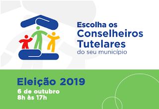 Eleições para o Conselho Tutelar acontecem no dia 6 de setembro