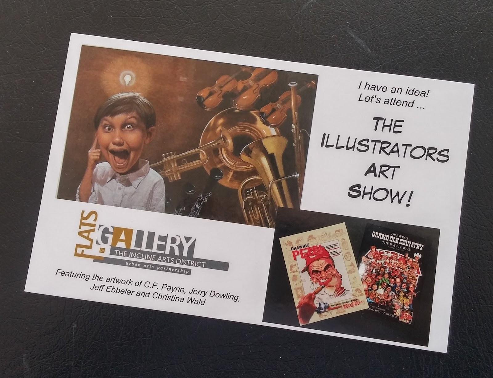 Cincinnati illustrators blog the illustrators art show for Craft shows in cincinnati