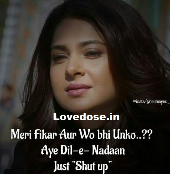 sad shayari for fb status in hindi