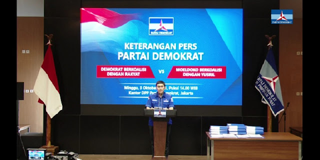 Bukan Hanya Gantikan AHY, Demokrat Ungkap Ambisi Moeldoko Ingin Jadi Presiden