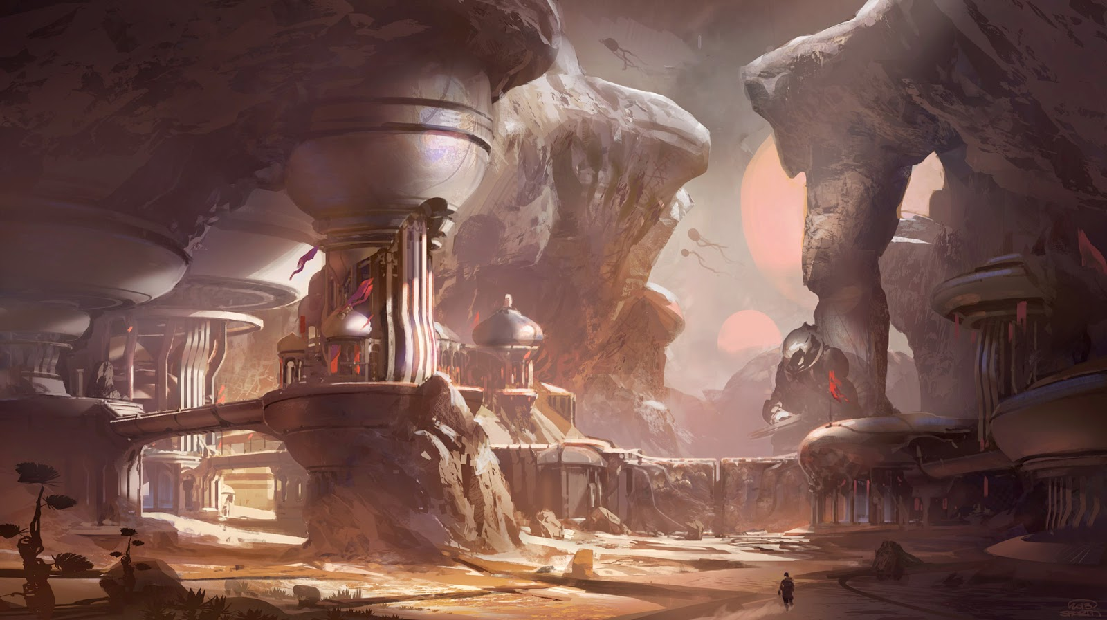 halo 5 concept art Guardians