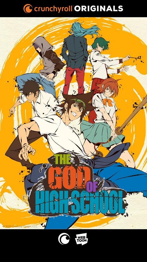 """Crunchyroll's """"The God of High School"""" Anime Adaptation"""
