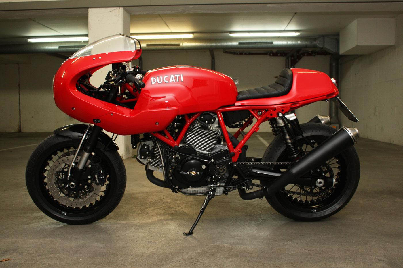 Ducati Sport 1000s Caferacer Rocketgarage Cafe Racer