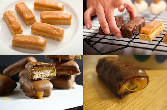 أحلى وأسهل طريقة لعمل حلوى التويكس في المنزل!