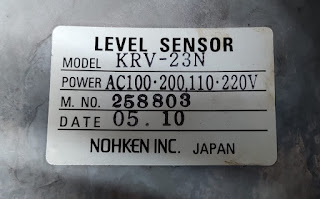 KRV-23N NOHKEN INC JAPAN NEW LEVEL SENSOR  KRV-23N  E-mail: idealdieselsn@hotmail.com