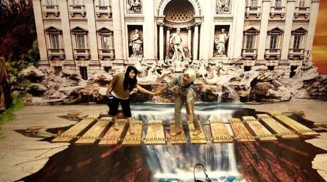 Old City 3D Trick Art Museum Semarang: Lokasi, Rute, dan Harga Tiket