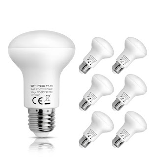 where to buy cheap light bulbs? avaliable offer now ! Hurry limited time, 6W LED R63 E27 Cool White Light Bulbs (6 pack) £17.99