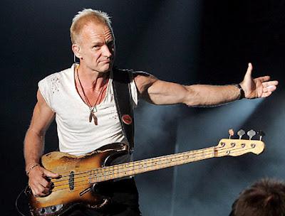 Foto de Sting en el escenario