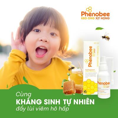 Ai là ngươi thích hợp sử dụng keo ong xịt họng phenobee Việt Nam