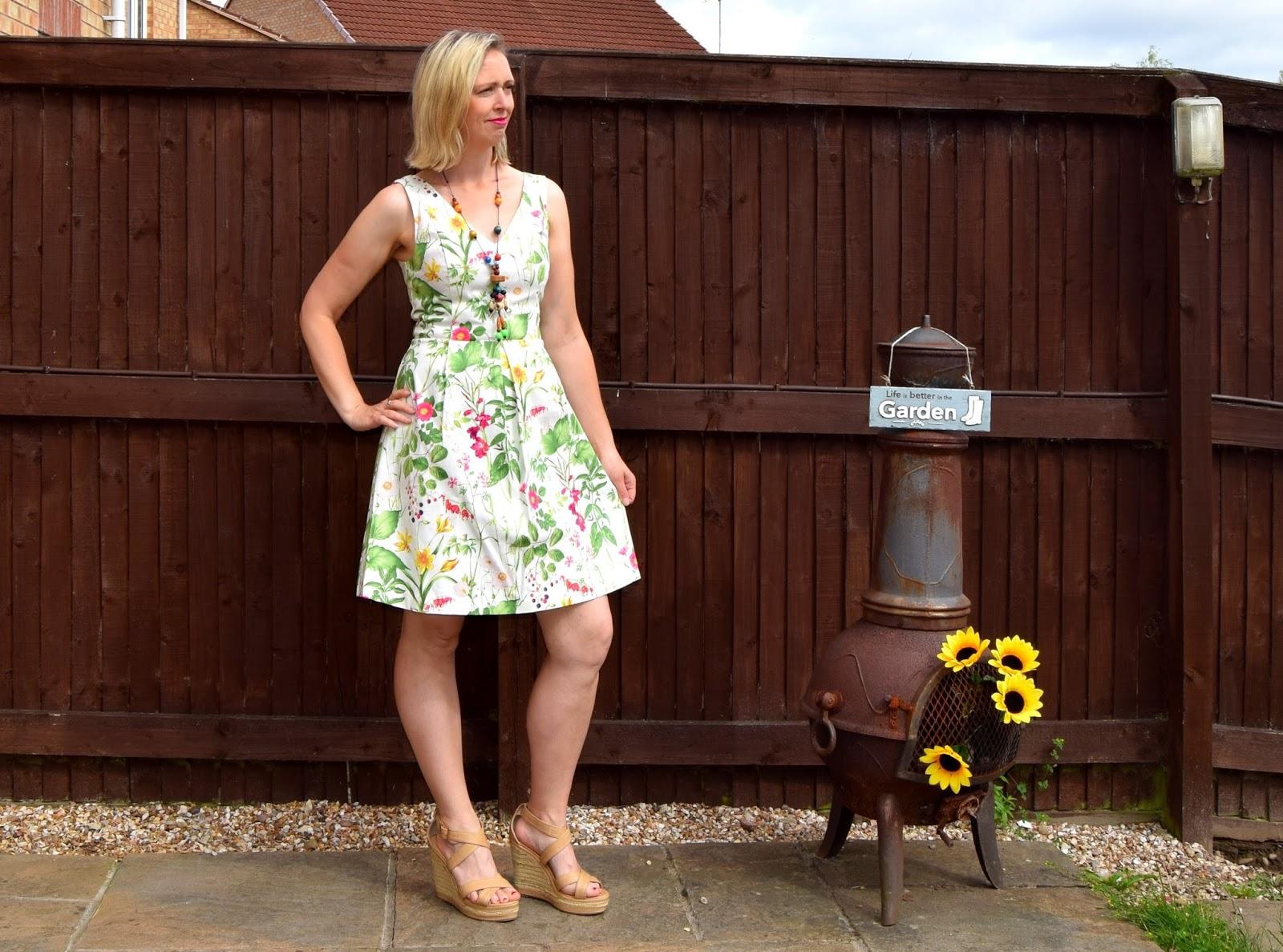 Oasis Chelsea Floral Skater Dress: House Of Fraser