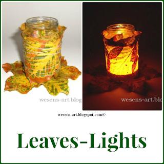 LeavesLights wesens-art.blogspot.com