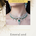Emerald diamond necklace designs
