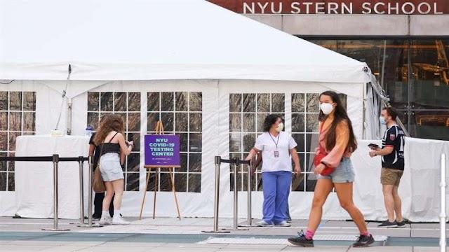 Centros escolares puedan impartir clases al aire libre en el retorno a clases, en Nueva York