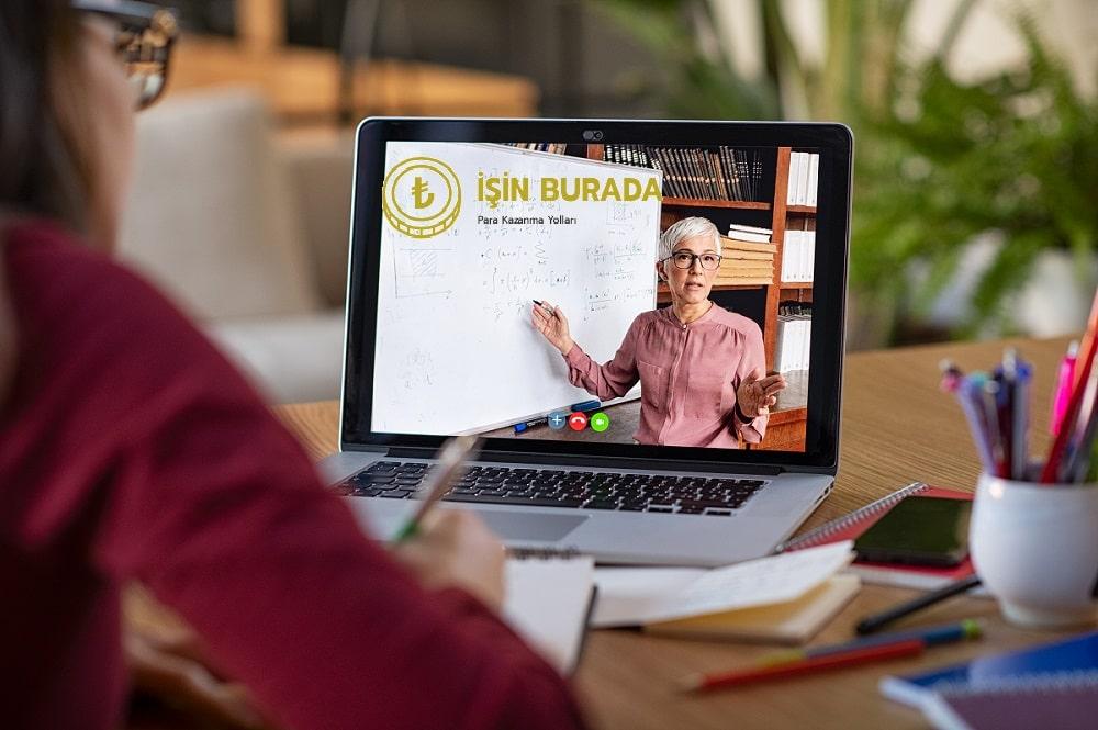Online Eğitimler Hazırlayarak Para Kazanın