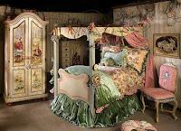 Dormitorio infantil estilo princesa