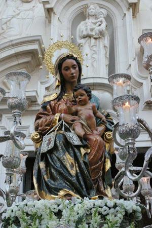 Horario e Itinerario de la Salida Procesional del Inmaculado Corazón de María del Claret hoy en Sevilla