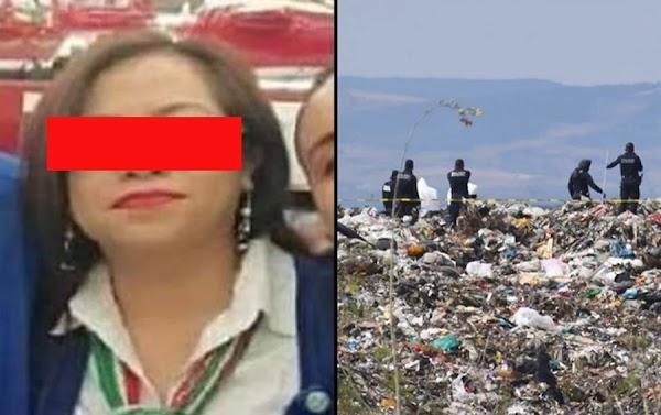 Se termina la busqueda, Romina fue asesinada por su novio; buscan sus restos en la basura