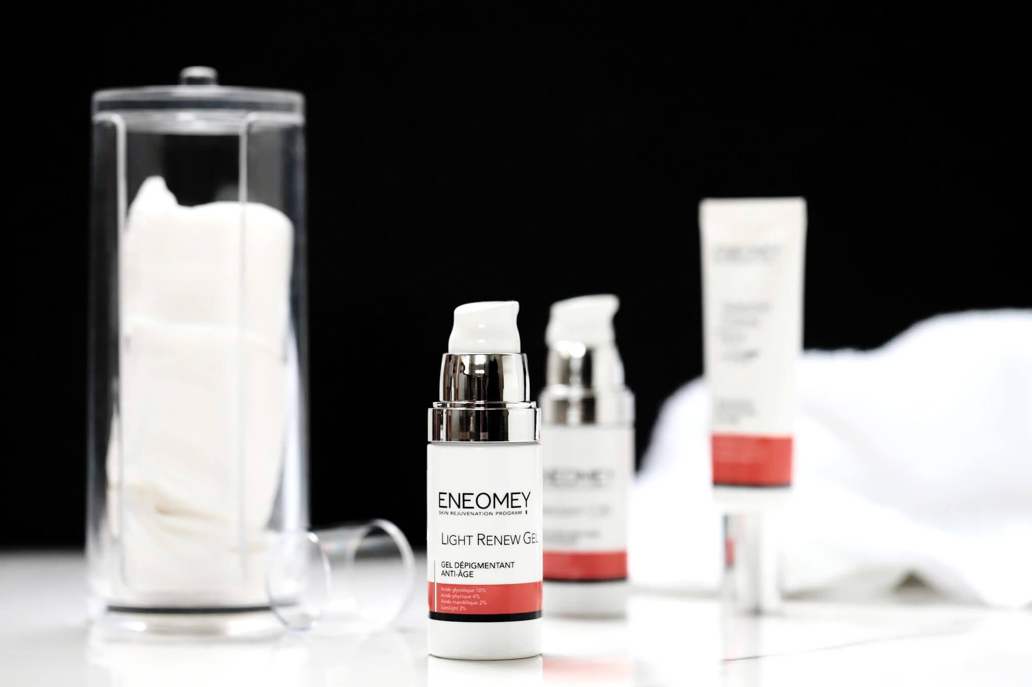 Eneomey light renew gel depigmentant anti age