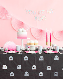pink and black diy halloween