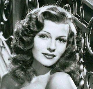Rita Hayworth Hair