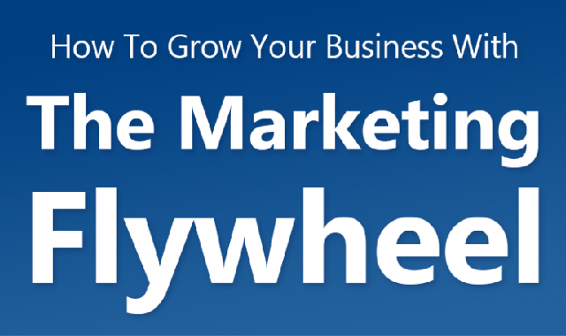 How To Grow Your Business With The Marketing Flywheel #infographic