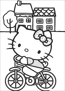 Hello Kitty Dibujos Para Colorear Vlc Peque