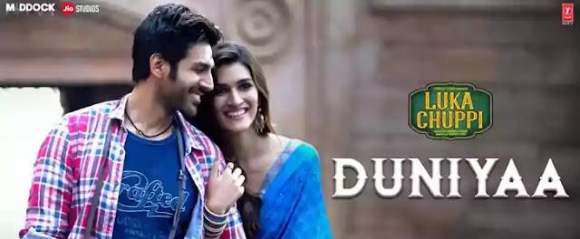 DUNIYA LYRICS – LUKA CHUPPI   Kartik Aaryan & Kriti Sanon   NewLyricsMedia.Com