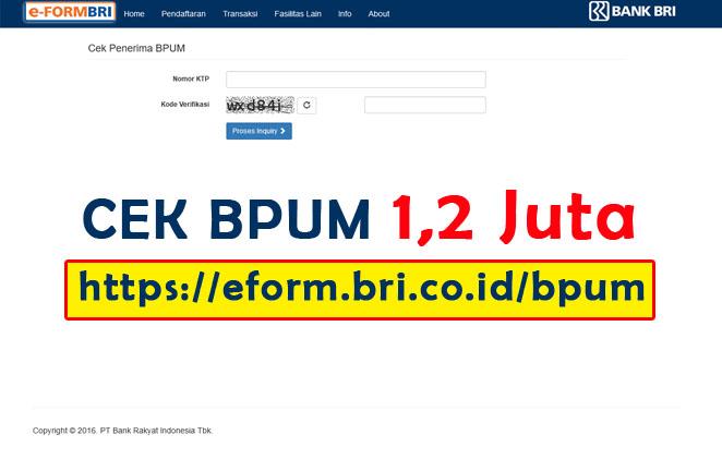 Cara Daftar BPUM 2021