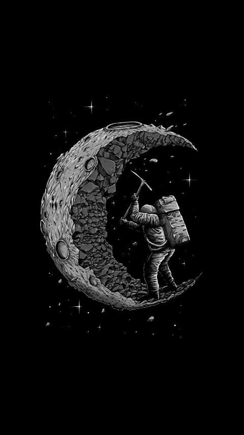 Khai thác mặt trăng