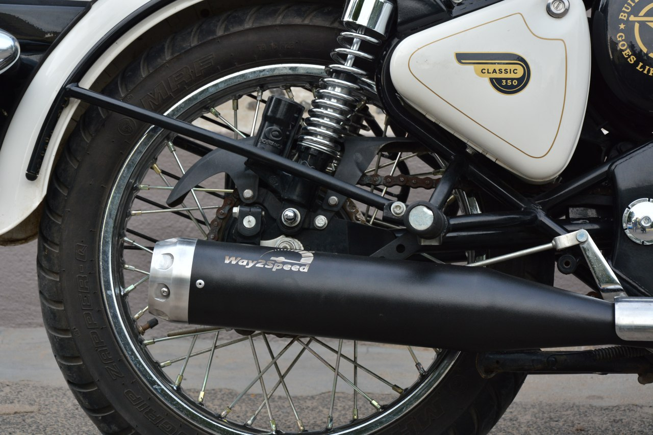 Way2Speed Velocity Silencer For Royal Enfield  ( Royal Enfield exhaust | Best silencer for royal enfield | royal enfield classic 350 silencer sound | silencer for classic 350 | royal enfield glass wool silencer (ceramic wool) | silencer for bullet | Bullet silencer | Bullet silencer sound increase )