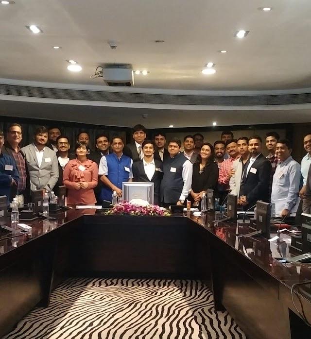 तेरापंथ प्रोफेशनल फोरम मुंबई द्वारा तेरापंथ बिज़नेस नेटवर्क के तहत आज दूसरी मीटिंग का हुआ आयोजन
