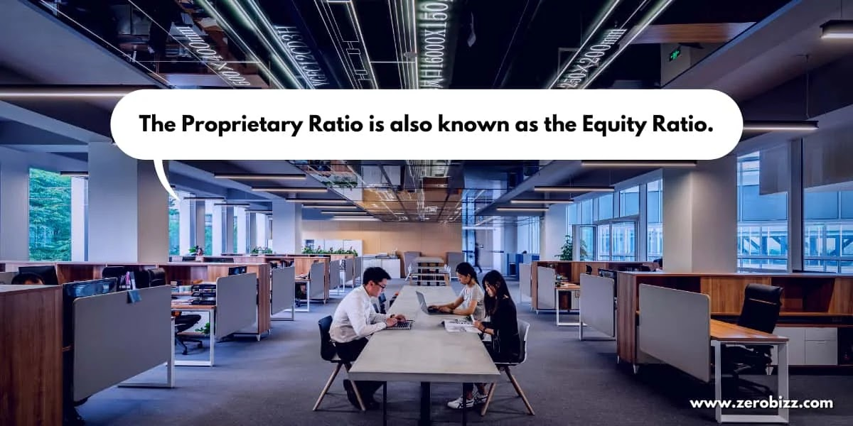 proprietary ratio explained in simple words by zerobizz