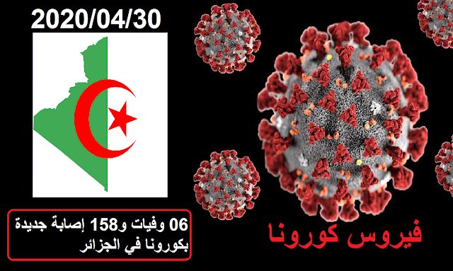 06 وفيات و158 إصابة جديدة بكورونا في الجزائر