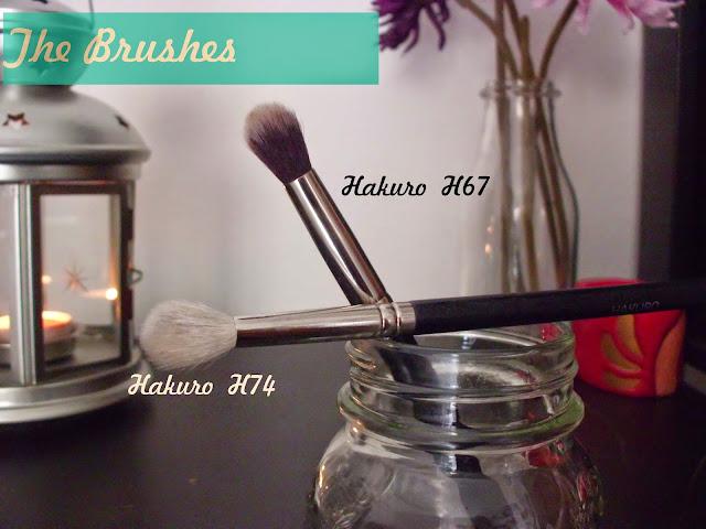Hakuro Brushes pennelli h74 e h67 Recensione