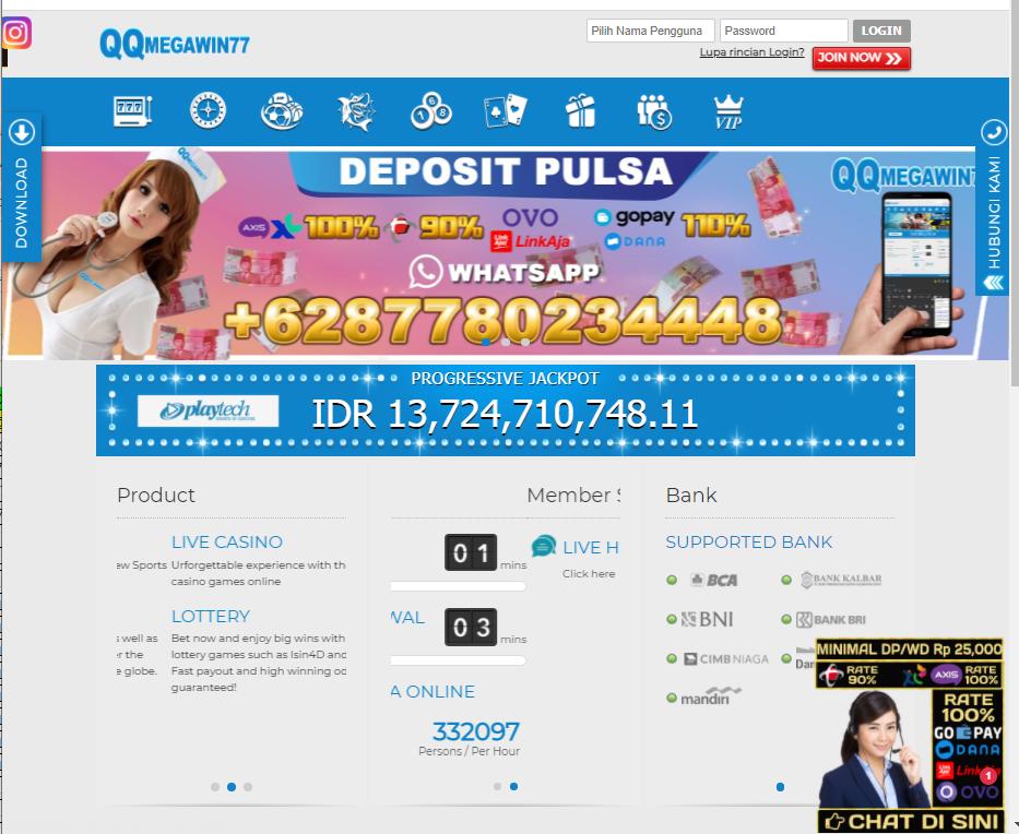 Qqmegawin77 Situs Judi Slot Online Terbaik Cq9 Slot Deposit Pulsa Perfil Red Innpulso Foro