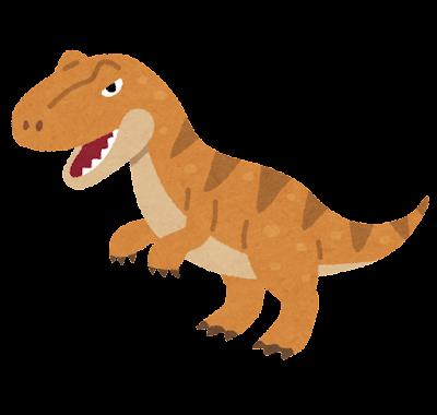 アロサウルスのイラスト