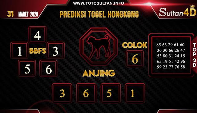 PREDIKSI TOGEL HONGKONG SULTAN4D 31 MARET 2020