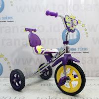 Sepeda Roda Tiga BMX Mommy CP-S Chrome Pernekel Sandaran
