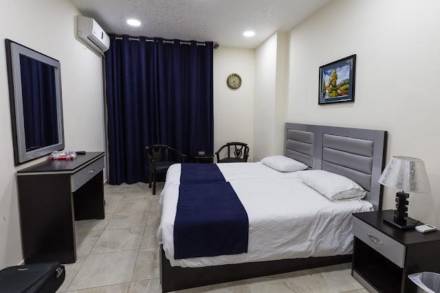Habitación del hotel 7boys en Amman, Jordania