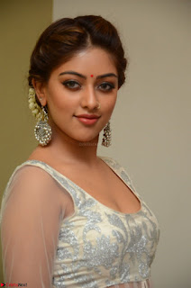 Anu Emmanuel in a Transparent White Choli Cream Ghagra Stunning Pics 112.JPG