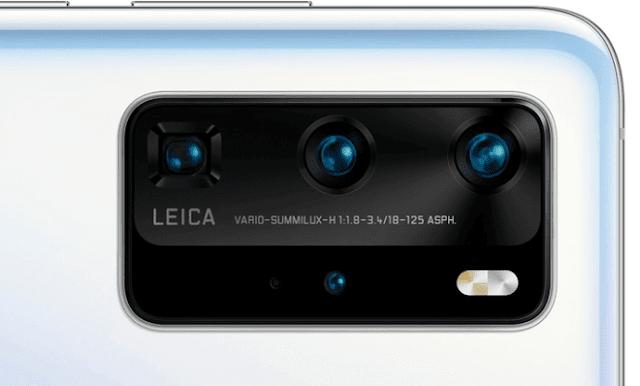 هاتف هواوى P40 برو بأربع كاميرات فى الخلف