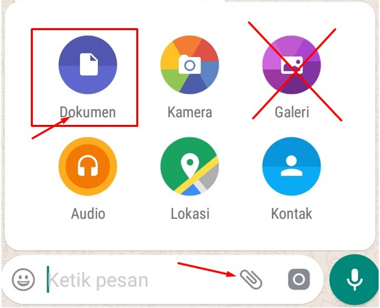 Cara Mengirim Gambar Di WhatsApp Agar Tidak Pecah Dan Ukuran File Tetap