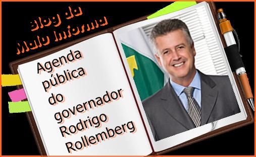 Agenda pública do governador Rodrigo Rollemberg para segunda-feira (26/11/18)
