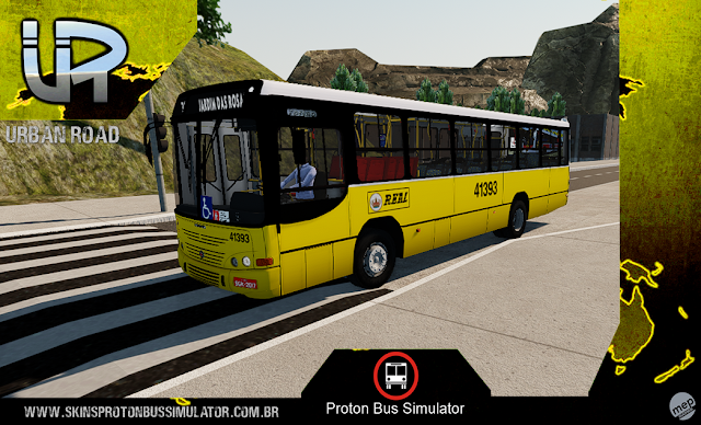 Skin Proton Bus Simulator - Torino 99 MB OF-1418 Real Auto Onibus