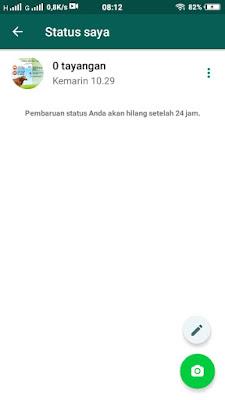Status WhatsApp Tidak Dilihat Orang Lain