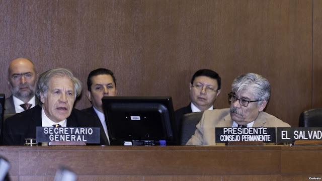 OEA justifica aplicación de Carta Democrática a Nicaragua.