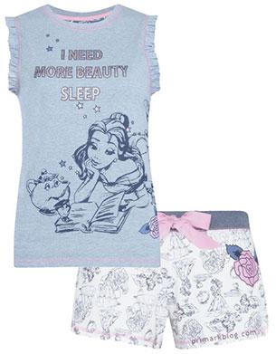pijama la Bella y la Bestia Primark