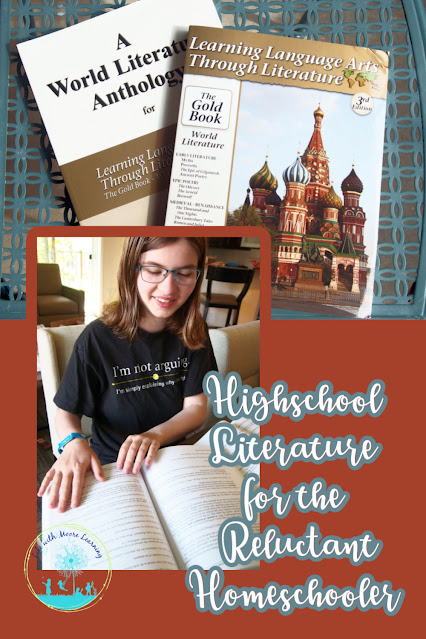 High School World Literature Curriculum for the Reluctant Homeschool Student