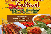 Spicy Food Festival Lobby Tunnel Thamrin City 23 - 29 Maret 2020