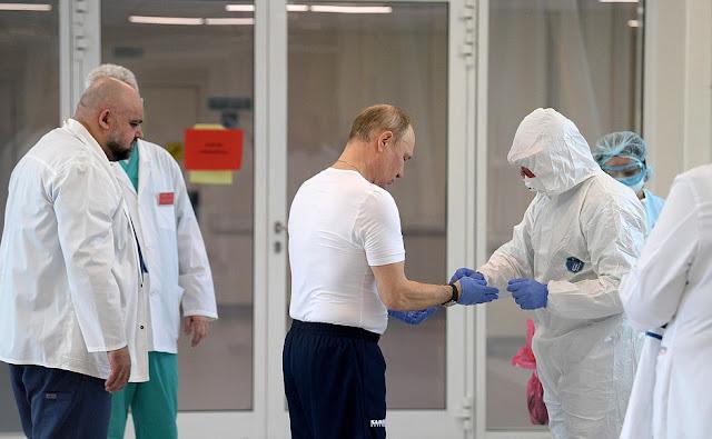 Rusia gasta $84 millones de dólares para mantener a Putin a salvo del coronavirus